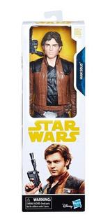 Muñeco Star Wars Han Solo De 30 Cm E1176