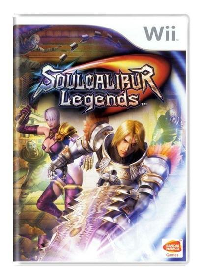 Soulcalibur Legends Wii Mídia Física Pronta Entrega