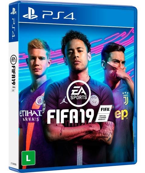 Game Fifa 19 - Ps4 Mídia Física Promoção Envio 10,00