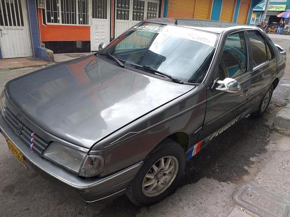 Peugeot 405 Gris 1995