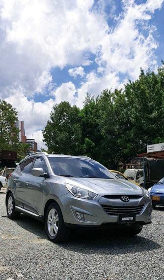 Hyundai Tucson I35 At 2.4 Cc 2013 Plata 96.500km