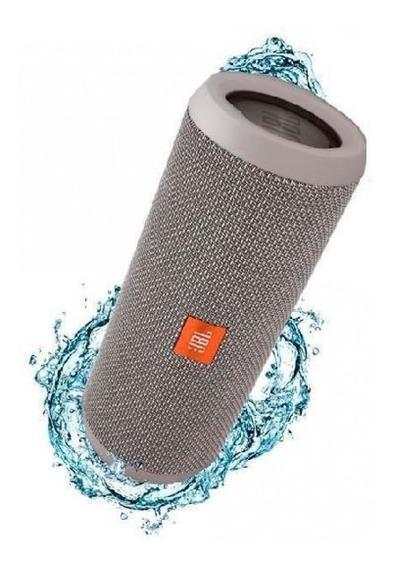 Caixa De Som Portátil Jbl Flip 4 Bluetooth Azul Original +nf