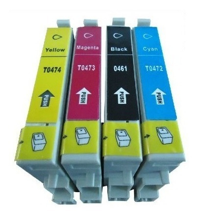 Kit 32 Cartuchos Epson C63, C65, C66, C85, Cx3500, Cx4500...