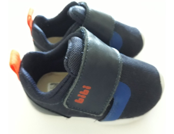 Tênis Infantil Bibi Fisioflex Tamanho 18 - Pouco Usado