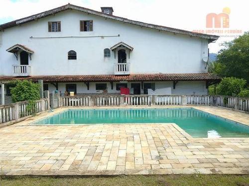 Chácara Com 12 Dormitórios À Venda, 72000 M² Por R$ 1.200.000,00 - Raposo Tavares - Itariri/sp - Ch0101