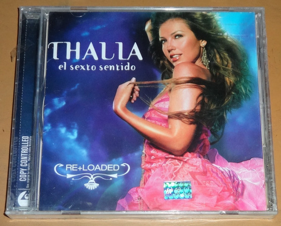 Thalia Cd El Sexto Sentido Re+loaded Importado De Mexico