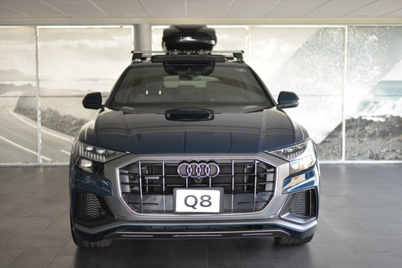 Demo Audi Q8 55 Tfsi Mild Hybrid Sline Quattro 2019 Azul-neg