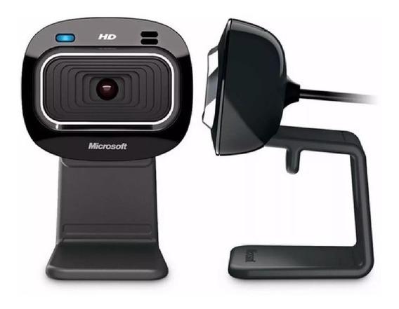 Câmera Webcam Microsoft Life Cam Hd-3000 720p - Lacrado