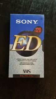 Videocassette Sony Ed T-120