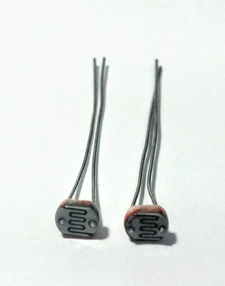5pçs Resistor Ldr Gl5549 5mm Sensor De Luminosidade