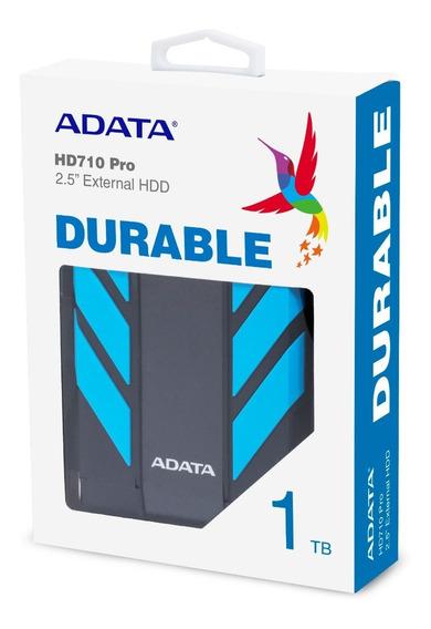 Disco Duro Externo Adata 1tb Hd710p Azul Antigolpes