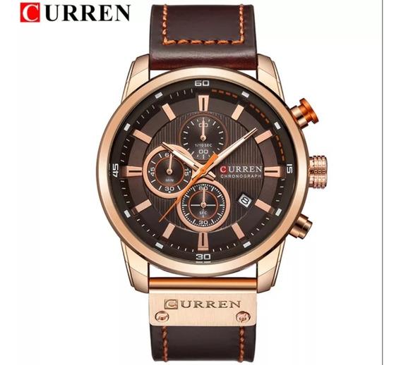 Relógio De Luxo Curren Importado Original Barato Masculino