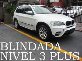 Bmw X5 35ia 2012 Blindada Nivel 3 Plus Blindaje Blindados