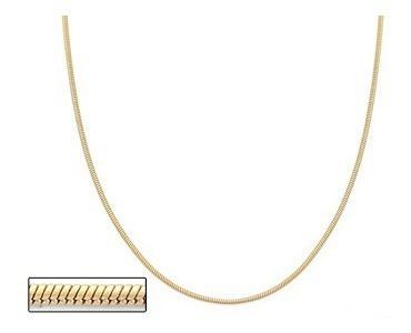 Corrente Fio Rabo De Rato 42cm F/ Ouro 18k Rommanel 530542
