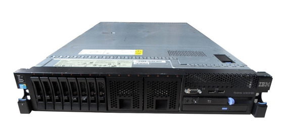 Servidor Ibm X3650 M3 2 Xeon Six-core 16gb 292gb Sas