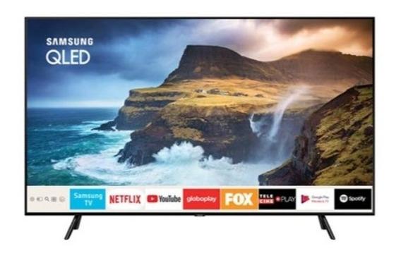 Smart Tv 4k Uhd Samsung Qled 55 Com Pontos Quânticos.