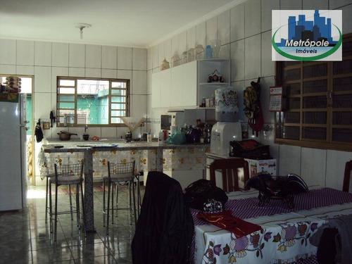 Imagem 1 de 18 de Sobrado  Residencial À Venda, Jardim Bela Vista, Guarulhos. - Sp - So0035_metrop