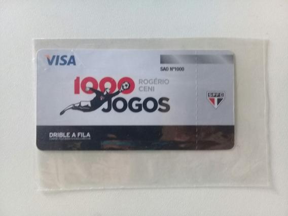 Ingresso Comemorativo 1000 Jogos Rogerio Ceni
