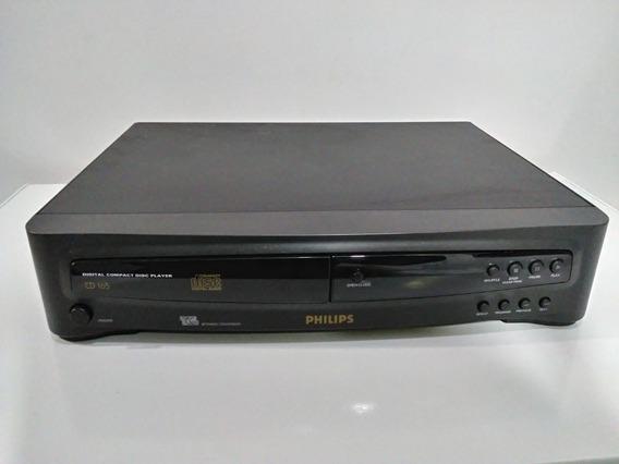 Toca Cd Player Philips Cd 165 - Necessita Manutenção