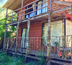 Cabaña A 1 Kilómetro Reserva Huilo Huilo// Neltume
