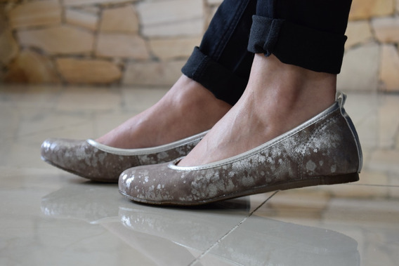Chatitas Ballerinas Mujer Zapato Cuero Legítimo Calidad