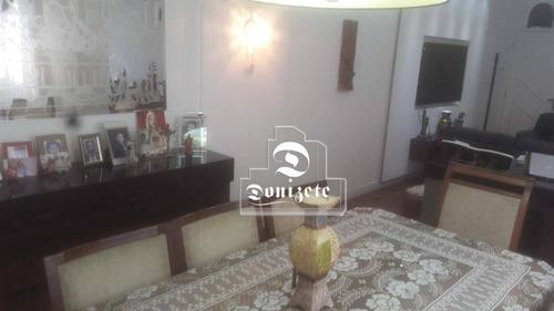 Cobertura À Venda, 200 M² Por R$ 780.000,01 - Vila Pires - Santo André/sp - Co10809