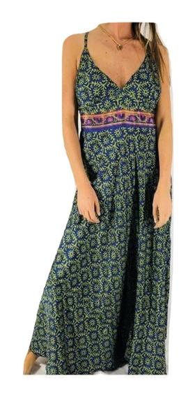 Vestido Fiesta Importado India Tipo Holi Rapsodia S A Xl