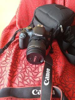 Cámara Canon Profesional Eos Rebel T5