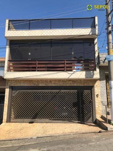 Sobrado Com 3 Dormitórios À Venda Por R$ 550.000,00 - Vila Nova York - São Paulo/sp - So0180