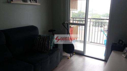 Imagem 1 de 17 de Apartamento Com 2 Dormitórios À Venda, 63 M² Por R$ 560.000,00 - Ipiranga - São Paulo/sp - Ap1940