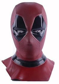 Mascara Deadpool Látex -perfeita -pronta Entrega Rápida!