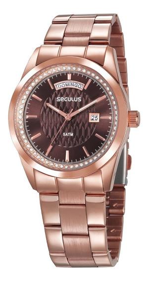 Relógio Seculus Feminino 35002lpsvrs1