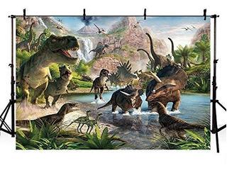 Mehofoto 8x6ft Temático Del Dinosaurio Estudio Booth Jurás