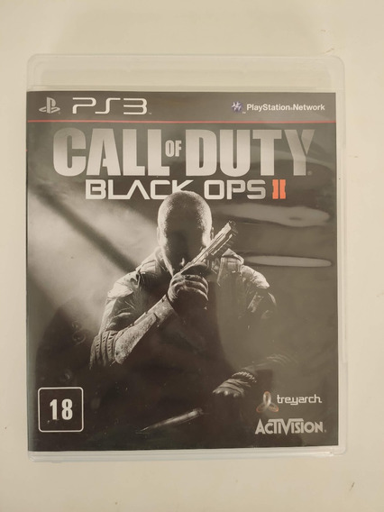 Call Of Duty Black Ops 2 Midia Fisica Ps3 Seminovo Usado