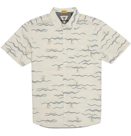 Camisa Hombre Vissla Palmere Bon Original Envío Gratis