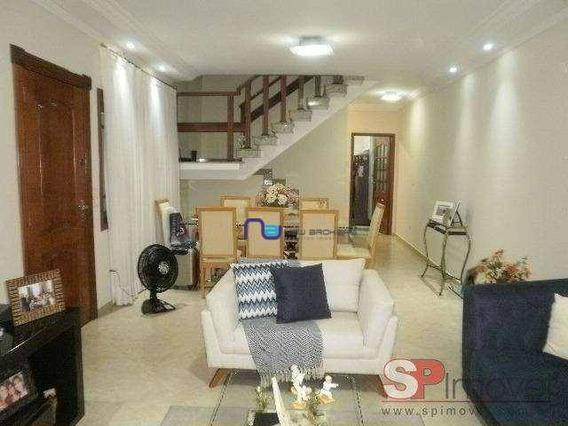 Sobrado Com 4 Dormitórios À Venda, 180 M² Por R$ 1.245.000 - Água Fria - São Paulo/sp - So1214