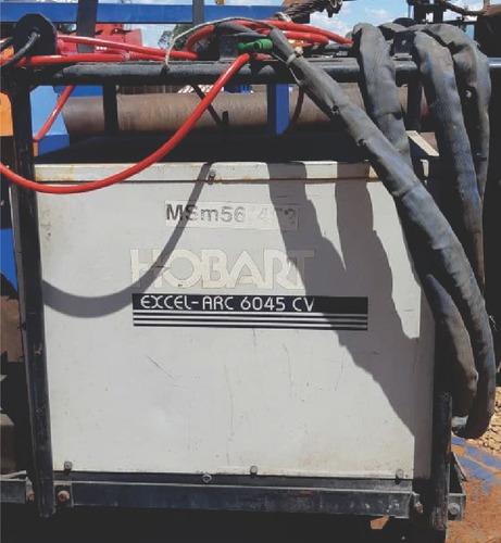 Maquina De Solda Mig Hobart 600a Dc Excel Arc 6045 Cv - 2701