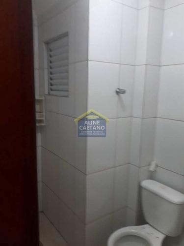 Apto. Com 2 Dorms, Balneário Umuarama, Mongaguá - Vact1200