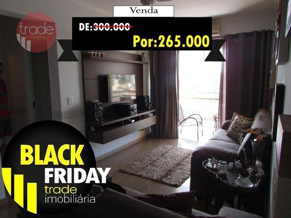 Apartamento Com 2 Dormitórios À Venda, 82 M² Por R$ 265.000 - Santa Cruz Do José Jacques - Ribeirão Preto/sp - Ap4775