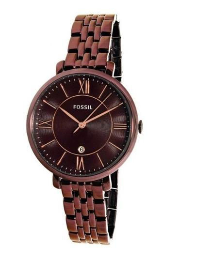 Relógio Feminino Fossil Jacqueline Es4100 Original