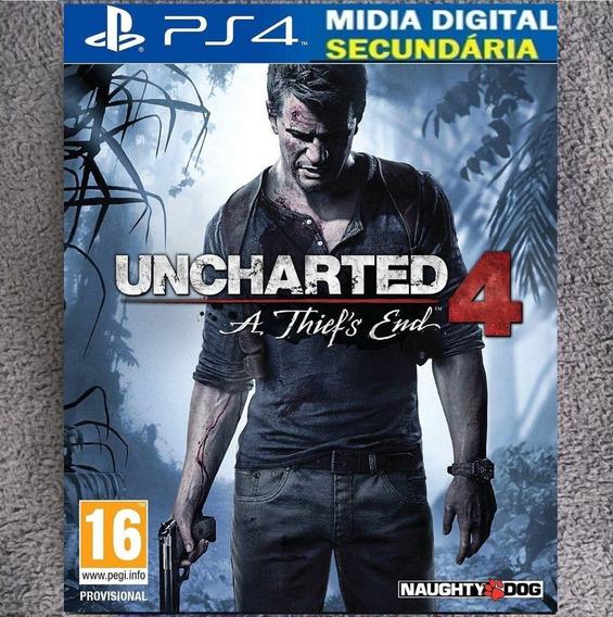 Uncharted 4 Psn 2ª Ps4
