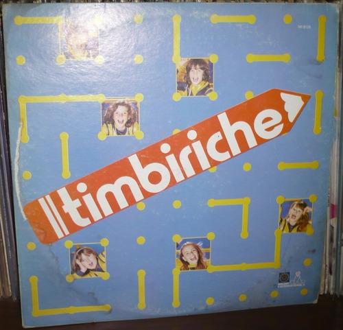 Imagen 1 de 4 de Timbiriche Lp Timbiriche