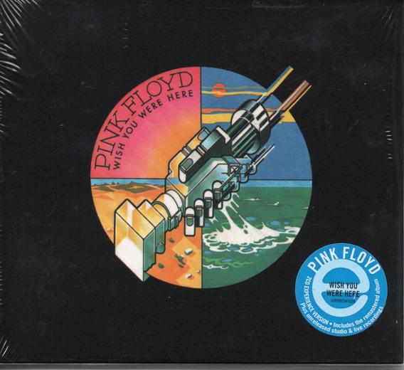 Cd Duplo Pink Floyd - Wish You Were Here