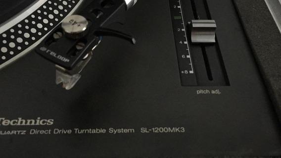 Toca Discos Technics Sl-1200+case Shell E Agulha Nova