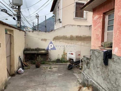 Casa De Rua À Venda, 3 Quartos, 1 Vaga, Laranjeiras - Rio De Janeiro/rj - 19165