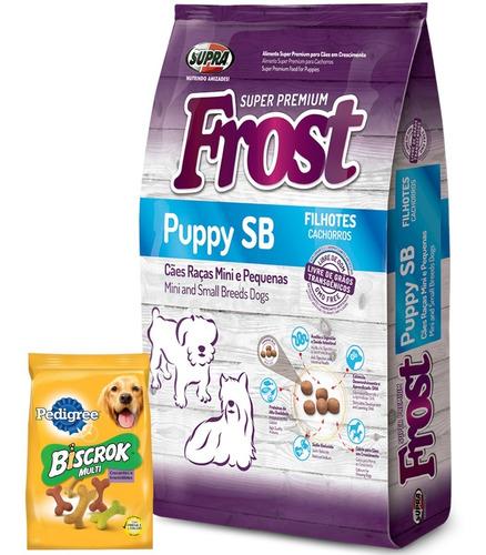 Frost Cachorro Raza Pequeña 10,1kg + Regalo + Envío Ver Foto