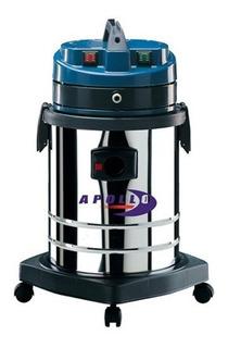 Maquina Lava Vestiduras Tapicerías Alfombras Industrial Inyección Succión 13 Hp De 35 Litros Acero Inoxidable