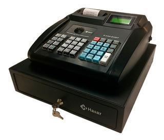 Registradora Controlador Fiscal Hasar 6100 Con Cajon Dinero