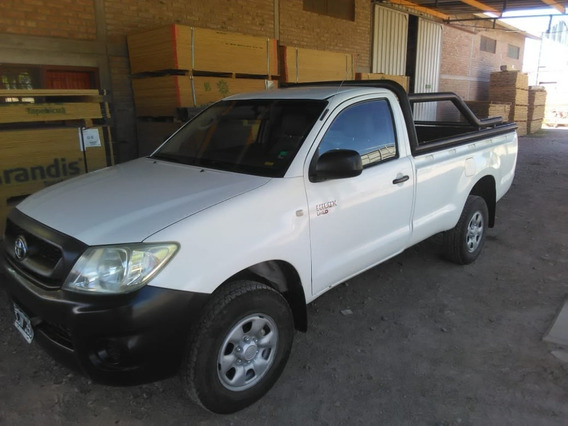 Toyota Hilux Dx Cabina Simple 4x2 2009 Pocos Kms