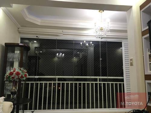 Imagem 1 de 30 de Apartamento Com 2 Dormitórios À Venda, 62 M² Por R$ 427.000,00 - Vila Leonor - Guarulhos/sp - Ap0028